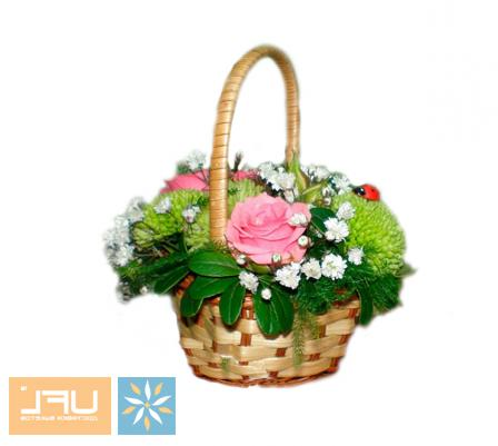 Bouquet Basket