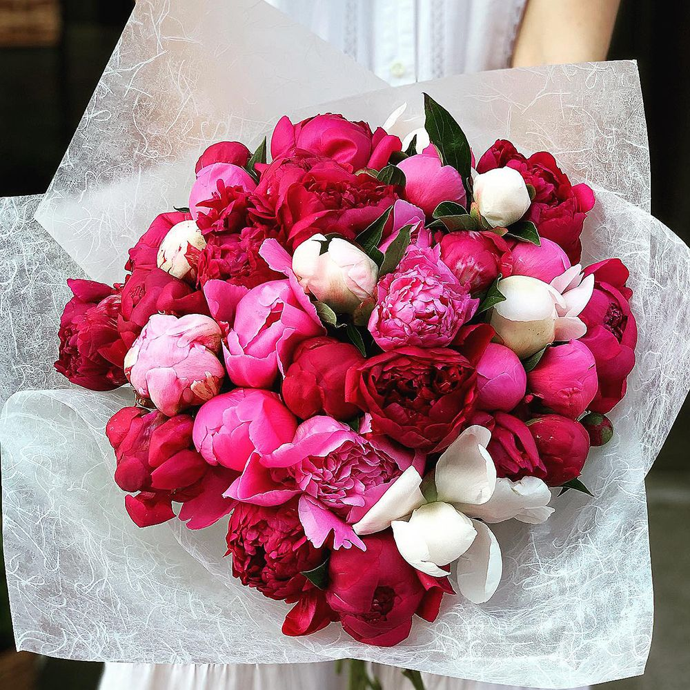 Bouquet Mixed peonies