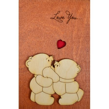Product Wooden card #3