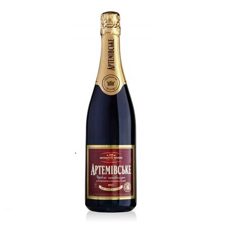 "Product Red champagne ""Artemovskoye"""