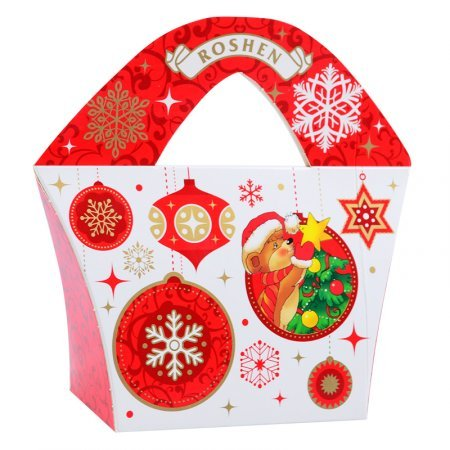 Bouquet Christmas candy Roshen