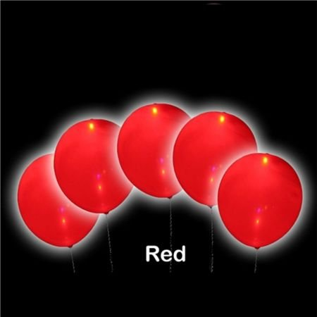 Product Glowing balloons (red)