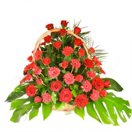 Bouquet Funeral arrangement 16