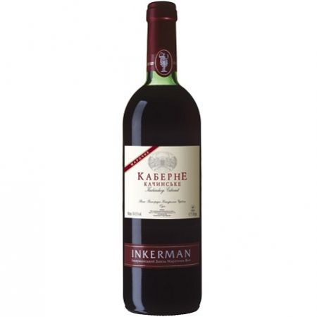 Product Wine Cabernet Kachin Inkerman red, 0.75 L