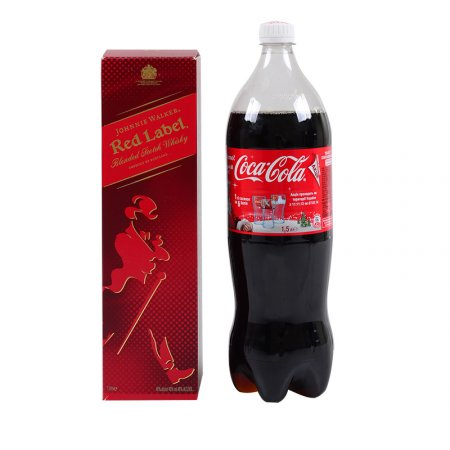 Product Whisky Red Label 1L + Сoca-Cola